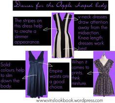 Apple Body Type dresses