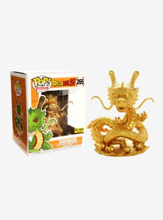 Funko Dragon Ball Z Pop! Animation Shenron (Gold) 6 Inch Vinyl Figure Hot Topic Exclusive | Hot Topic