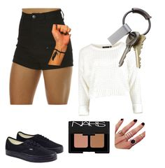 """""""Untitled #5"""" by tatizenn on Polyvore featuring Wrangler, Vans, CB2, Melanie Auld and NARS Cosmetics"""