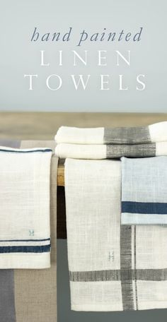 Make hand painted linen towels tutorial.  AND 45 BEST FRENCH Spring Party, Crafts & Decor Tutorials EVER with their LINKS!!! GIFT, PARTY, EVENT, SPRING, WEDDING DECOR. Blog & Photos from MrsPollyRogers.com