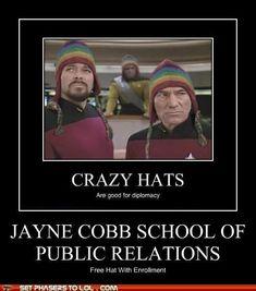 Jayne Cobb school of public relations