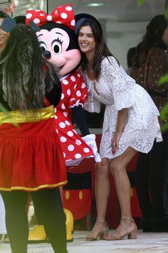 Alessandra Ambrosio enjoys her nephew Dylan's Disney birthday party in Florianópolis Brazil – June 24, 2017