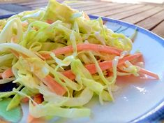 Salada de Repolho Cremosa