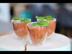 """Het lekkerste recept voor """"Shotje van meloen en tomaat """" vind je bij njam! Ontdek nu meer dan duizenden smakelijke njam!-recepten voor alledaags kookplezier!"""