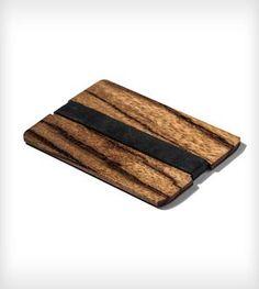 Simple Wood Wallet - Exotic Wood