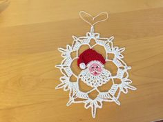 Hey, I found this really awesome Etsy listing at https://www.etsy.com/listing/250182692/santa-snowflake