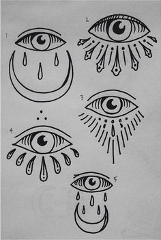 Resultado de imagen para simple all seeing eye tattoo
