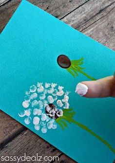 Tip Painted Flower
