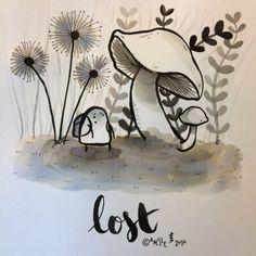 Lost - by Camille Medina #inktober #inktober2016