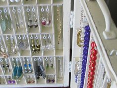 Portable Jewelry Display by BlackForestCottage on Etsy,