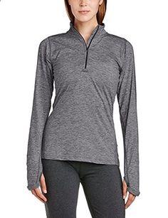 9c5f8ff1f46cc Nike 481320 Womens Element Half Zip Grey Silver. More description on the  website. Nike