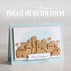 November is upon us! What has happened to 2017? It has just flown, much like my 12 weeks of Christmas series is flying by, this week is the fifth instalment. This round Barbara/Mum and I have chosen to showcase the Night In Bethlehem Bundle, mum and I had been taking it in turns selecting stamp…