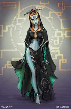 Midna's True Form ~ The Legend of Zelda: The Twilight Princess