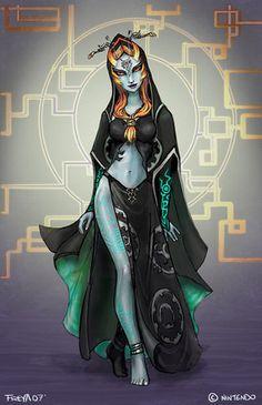 Midna's True Form ~ The Legend of Zelda: The Twilight Princess
