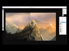 Digital Painting - On the Edge - Time Lapse - YouTube