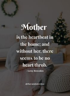 """Mother is the heartbeat in the home; and without her, there seems to be no heart throb.""- Leroy Brownlow #Specialquotesformothers #Mothersdayquotes #2021Mothersdayquotes #Specialmomquotes #Bestmomquotes #Inspirationalmothersquotes #Mothersdaysayings #Mothersday2021quote #Cutemothersdayquotes #Mothersdaypoems #Adorablequotesformothers #Sweetquotes #Mothersdaycaptions #Motherslovequotes #Motherhoodquotes #Deepquote #Mothersdayinstagramcaptions #Lifequotes #Mothersdaygreetings…"
