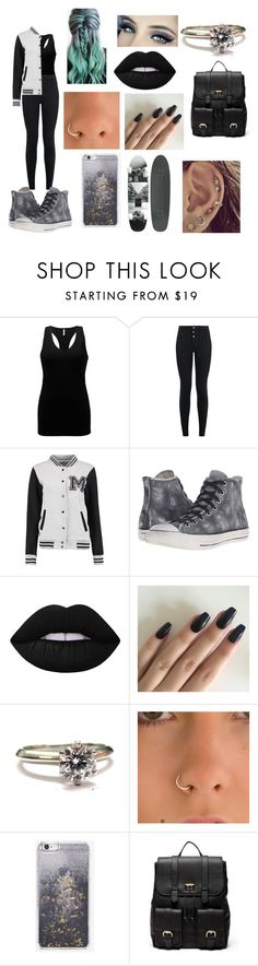 """012"" by emilypaul0400 on Polyvore featuring BKE, New Look, Converse, Lime Crime, Tiffany & Co., Skinnydip and Sole Society"