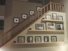 Picture Shelves for stairs