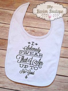 Harry Potter Bib | 33 Perfect Gifts For Book-Loving Babies