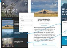 Adobe XD. Design and prototype in the same app