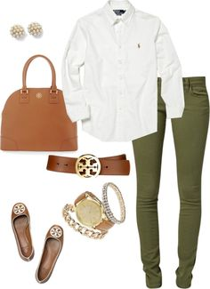 """""""Work Outfit"""" by pinkprep37 ❤ liked on Polyvore"""