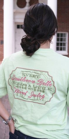 """Every Southern Belle needs a little """"sugar"""" in her Mint Julep!"""