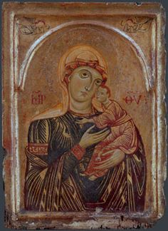 Italian, Tuscan: The Virgin and Child with Two Angels