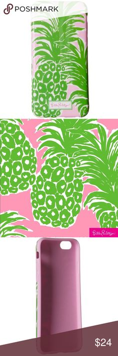 🍍 LILLY PULITZER Flamenco iPhone 6/6S Cover Case Lilly Pulitzer Flamenco iPhone 6/6S Cover Case  In excellent condition!   Lilly Pulitzer iPhone 6/6S cover with the Flamenco themed print.  Retail: $40 Lilly Pulitzer Accessories Phone Cases