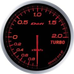 Defi DF09902 Advance BF Bar Boost Gauge Red 60mm *** You can find more details by visiting the image link.