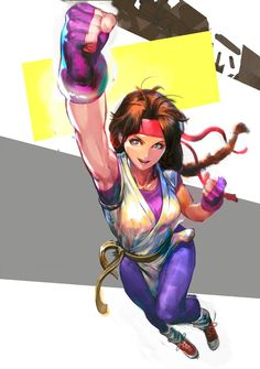 «·the king of fighters· Art Of Fighting, Fighting Poses, Manga Drawing, Manga Art, Snk King Of Fighters, Manga Games, Snk Games, Fanart, Female Anime