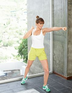 Power-Zirkel Übungen gegen Cellulite