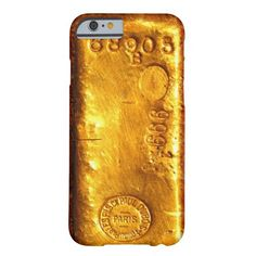 Gold Bar Barely There iPhone 6 Case