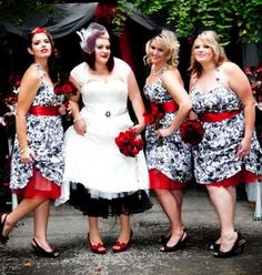 Dress with Crinoline slip modification wedding-ideas  Love how they did the bridesmaid dresses!