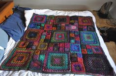 Granny's a Square Afghan (free pattern) AlaskanPurl, via Flickr