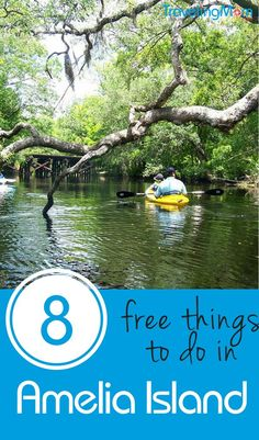 If you only think of Amelia Island Florida as a pricey luxury destination, think again! It's also got plenty of free things to do with kids. And they aren't all at the beach!