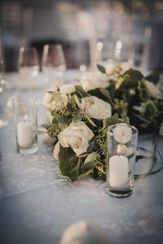 rose and eucalyptus centerpiece Wedding 2017, Wedding Reception, Dream Wedding, Wedding Day, Wedding Tables, Eucalyptus Centerpiece, Wedding Bouquets, Wedding Flowers, Event Planning