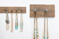 Make this jewelry organizer in a few simple steps.