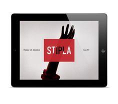 Stipla iPad Magazine on App Design Served