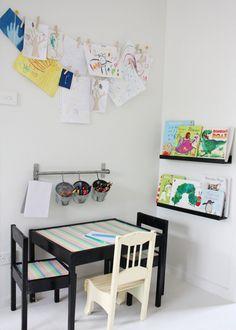 mommo design: KIDS ART CORNER