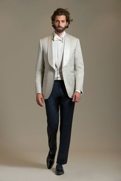 Perfect men's haircut.  Perfect.  Outfit by Brioni.