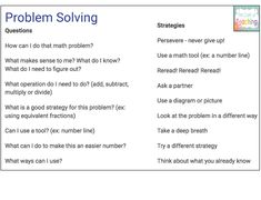The Craft of Teaching: How Problem of the Week Saved My Sanity Ks3 Maths, Maths Display, Math Tools, 5th Grade Math, Math Problems, Back To School Activities, Problem Solving Skills, Teaching Strategies, Save Me