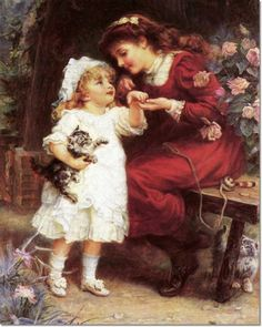 *The Pet Kittens* by Frederick Morgan