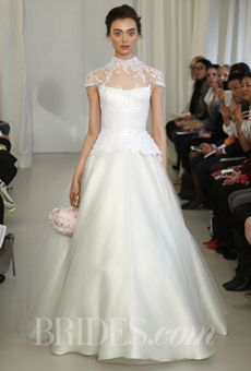 Brides: Angel Sanchez - Spring 2014 | Bridal Runway Shows | Wedding Dresses and Style | Brides.com
