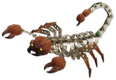 Wild Republic Nuts and Bolts Scorpion, 237 pieces plastic and metal construction set easy to follw instructions tools are included All Tools, Basic Tools, Online Craft Store, Craft Stores, Toy Tanks, Model Building Kits, Xmas Presents, Joann Fabrics, Scorpion
