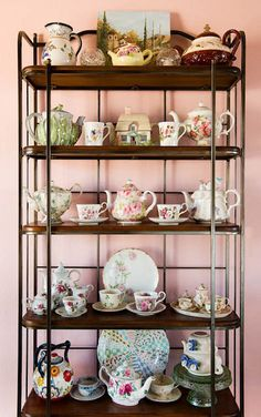 Teapots and teacups <3