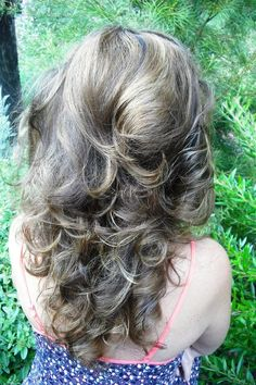 Gorgeous heatless curls