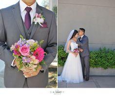 groom  bouquet brid & groom