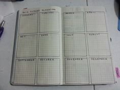 CrazieLittleFish: New Bullet Journal Set Up