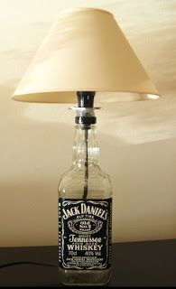 VerdeLixo: Os meus trabalhos - Candeeiro Jack Daniels