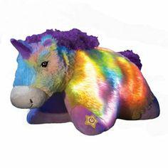 32e5bfc93b2 Pillow Pets Glow Pets Unicorn